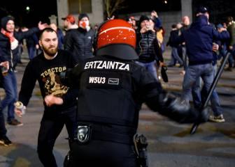 Multa de 40.000 euros al Athletic por los incidentes ante el Spartak