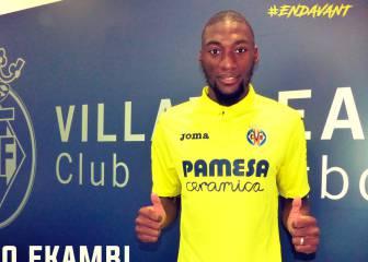 Oficial: Ekambi ficha por el Villarreal para 5 temporadas