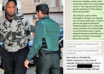El presidente del Sporting filtra los WhatsApps ofreciendo ayuda al condenado Rubén Semedo