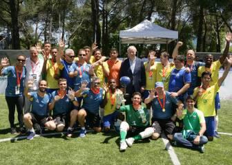 Brasil, campeona del Mundial de Fútbol para Ciegos