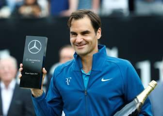 Federer, rendido a Cristiano