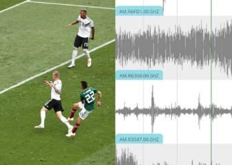 Registrado un terremoto en México con el gol de Lozano
