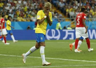 Brasil y Neymar cojean