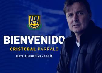 Cristóbal Parralo, nuevo entrenador del Alcorcón