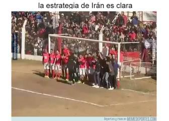 Los mejores memes del Irán-España