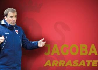 Oficial: Jagoba Arrasate, nuevo entrenador de Osasuna