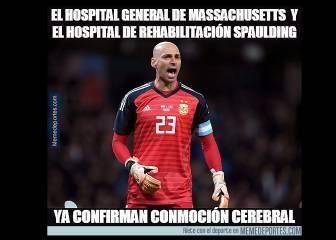 Los mejores memes del Argentina-Croacia