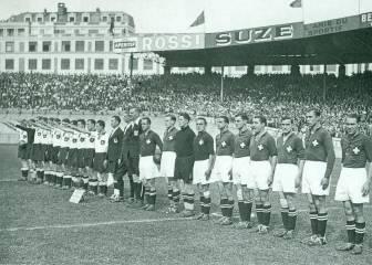 Suiza, experta en sorpresas: dio la primera de un Mundial ante la Alemania de Adolf Hitler