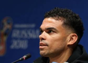 """Pepe: """"Ya lo dijo Costa, contra España fuimos perjudicados"""""""
