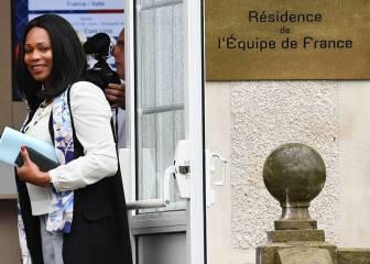 Laura Flessel: Ministra francesa con su selección en Rusia