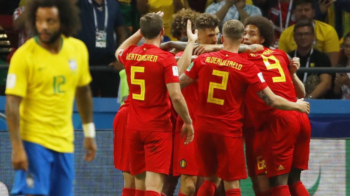 Bélgica eliminó a Brasil y el Mundial tendrá un campeón europeo