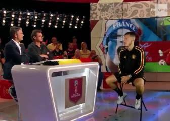 Descubriendo la entrevista holograma a Eden Hazard