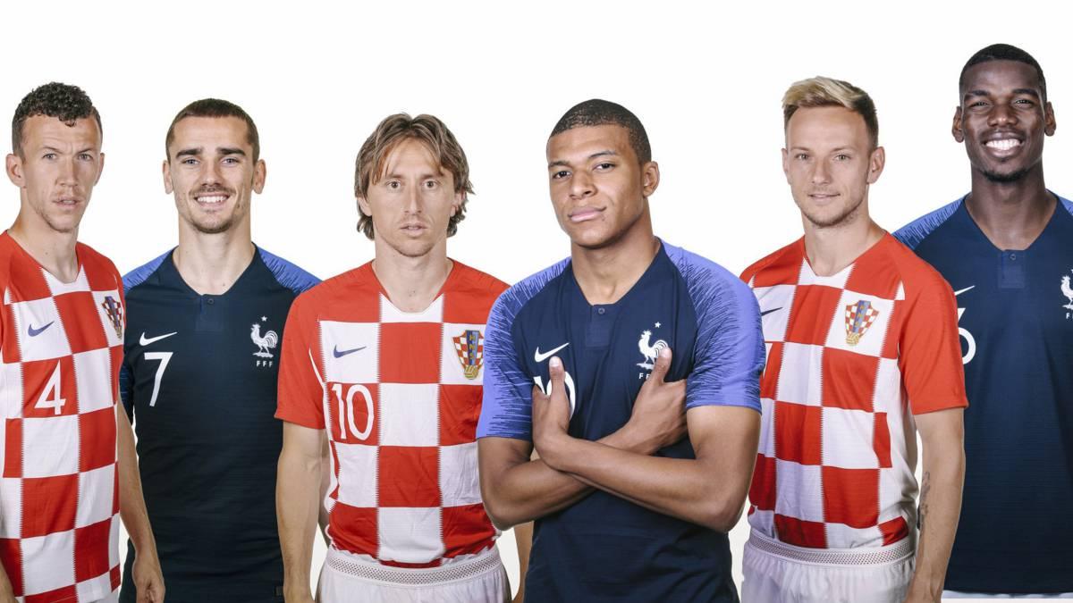 Francia Croacia Una Final En  Contrastes Valor Historial As Com