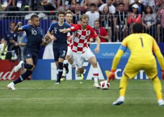 Clausura Mundial 2018 en vivo: Croacia contra la historia