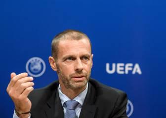 """Ceferin: """"El fútbol europeo puede mirar atrás con enorme orgullo"""""""