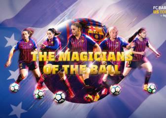 El Barça femenino hará la gira con el primer equipo