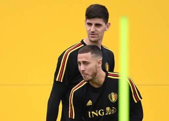 Courtois y Hazard, los mejores del Mundial para L'Équipe