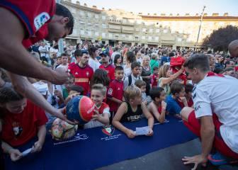 Día de estrenos en Osasuna y homenaje a los Sanfermines