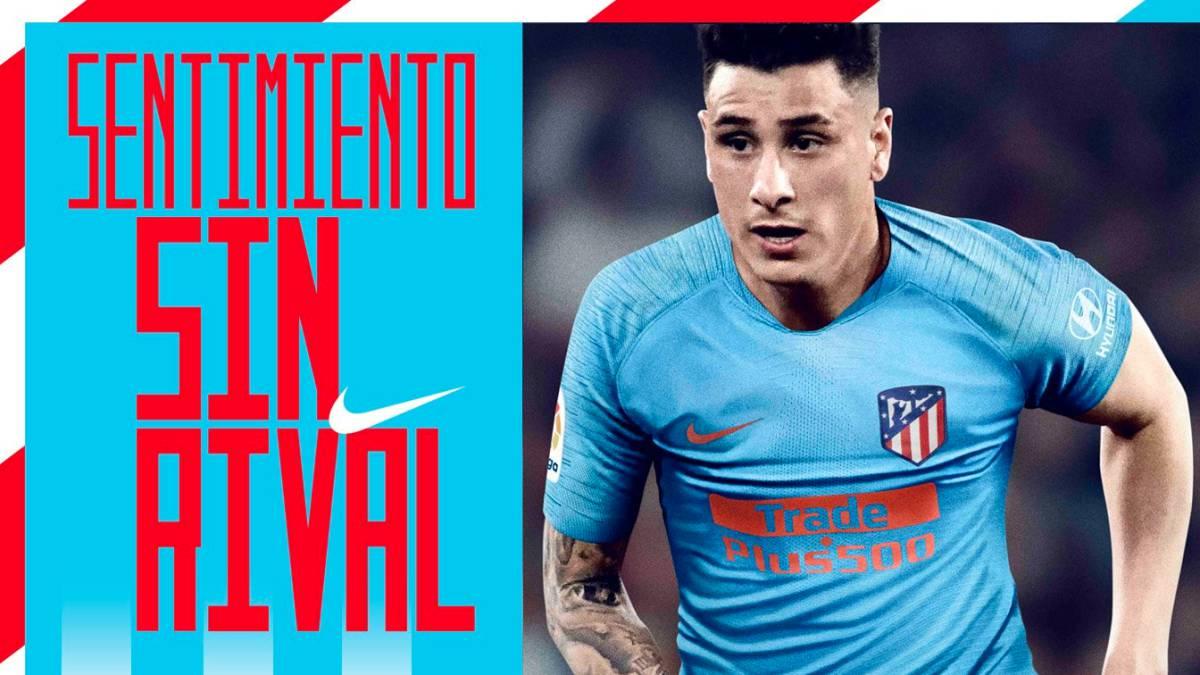 Segunda camiseta del Atlético de Madrid camiseta 2019 segunda
