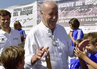"""Del Bosque: """"Luis Enrique sabrá lo que tiene que hacer"""""""