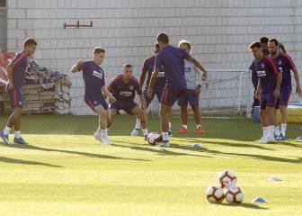 Madrugón del Atlético con Gameiro a las órdenes del Cholo