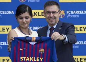 El Barça anuncia el mayor patrocinio del fútbol femenino