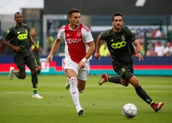 El Standard de Lieja remonta un 0-2 y empata 2-2 con el Ajax
