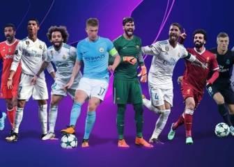 Seis del Madrid y uno del Barça, nominados a los mejores de la Champions por puesto