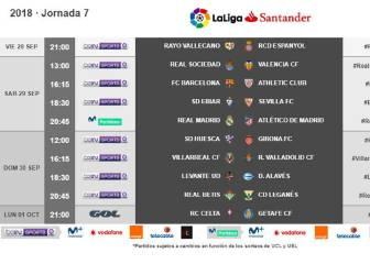 Ya hay horario para el derbi madrileño: 29-S a las 20:45