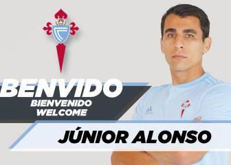 Junior Alonso ya es del Celta