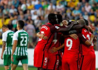 El Sevilla tritura al Zalgiris y ya mira a Olomouc