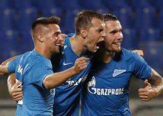 El 8-1 del Zenit al Dinamo Minsk, un partido para la historia