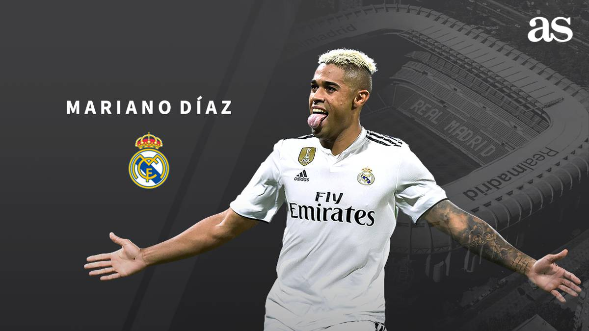 Official: Mariano signs for Real Madrid - AS.com