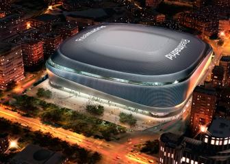 El gráfico que muestra cómo será el Santiago Bernabéu cubierto