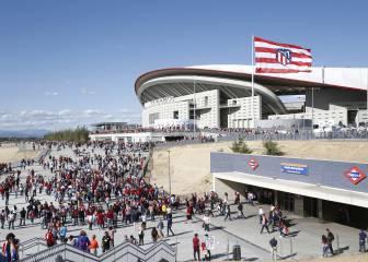 Wanda Metropolitano: casi 2 millones de espectadores y uso como Palacio de Congresos