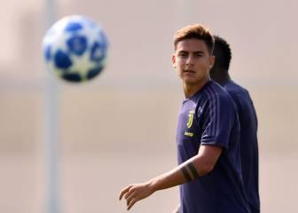 De Sciglio se lesiona y Dybala entra en la lista para Mestalla