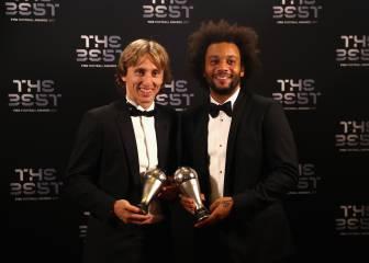 Modric y Marcelo, se ponen a 100