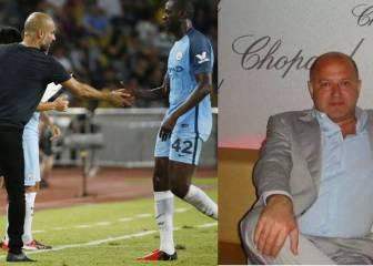 El agente de Yaya Toure, de nuevo contra Pep: ahora con una imagen de vudú
