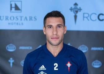 Hugo Mallo es seria duda para recibir al Valladolid