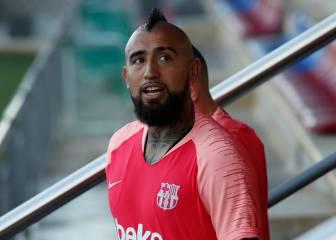 Arturo Vidal se reeduca para jugar en el Barça
