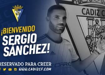 Oficial: Sergio Sánchez ya es jugador del Cádiz