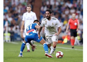 Real Madrid-Espanyol en imágenes