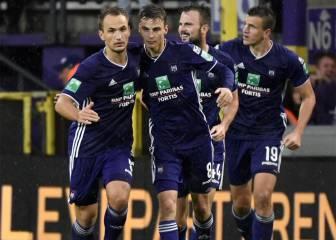 El Anderlecht sorprende al Standard Lieja en el descuento