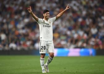 Asensio vale seis goles en siete partidos para el Real Madrid