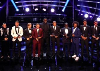 El Madrid domina el FIFPro World 11 con cuatro jugadores