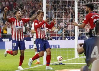 Atlético-Huesca en imágenes