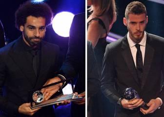 La paradoja de Salah y De Gea en las votaciones del The Best