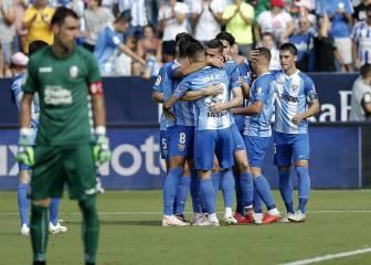 El Málaga encuentra el rumbo como visitante