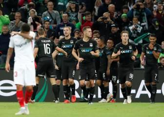El Sevilla tropieza en Krasnodar