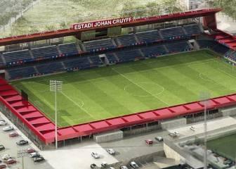El Barcelona suspende la visita de obras del estadio Johan Cruyff por las lluvias